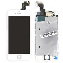 Ecran BLANC iPhone SE RAPPORT QUALITE / PRIX pré-assemblé photo 2