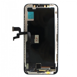 Ecran NOIR iPhone X Premier prix photo de dos