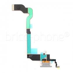 Connecteur de charge gris pour iPhone X photo 3