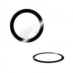 Lentille de protection sans bague pour caméra arrière iPhone 8 photo 1