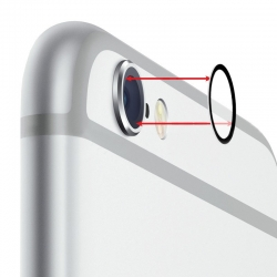 Lentille de protection sans bague pour caméra arrière iPhone 7 photo 2