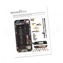 Patron adhésif d'aide au montage pas à pas pour iPhone 7 photo 2