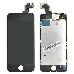 Ecran NOIR iPhone SE RAPPORT QUALITE / PRIX pré-assemblé photo 2