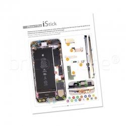 Patron adhésif d'aide au montage pas à pas pour iPhone 7 Plus photo 2