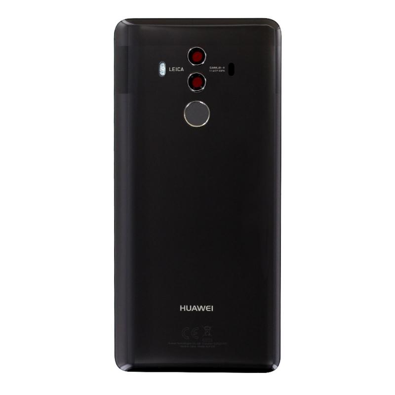 Remplacer la vitre arrière cassée et le lecteur d'empreintes pour le Mate 10 Pro noir avec BricoPhone_1