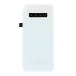 Remplacer la vitre arrière cassée du Samsung S10+ blanc prisme avec BricoPhone_1