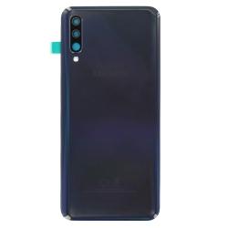 Changer la vitre arrière du Samsung Galaxy A50 noir pour une pièce d'origine avec Bricophone_1