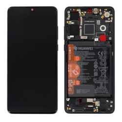 Remplacer l'écran et la batterie du Huawei P30 noir pour cette pièce d'origine avec Bricophone_1