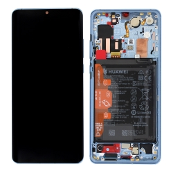 Remplacer l'écran et la batterie du P30 Pro bleu nacré de Huawei avec cette pièce détachée d'origine et Bricophone_photo1