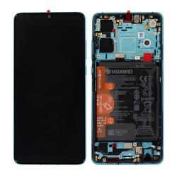Remplacer l'écran bleu du P30 grâce à ce bloc complet + batterie d'origine avec Bricophone_photo1