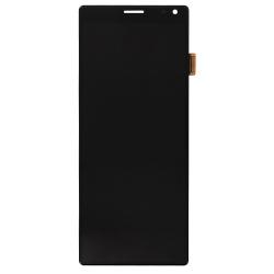 Remplacez l'ecran cassé de votre Sony Xperia 10 noir par une pièce neuve d'origine avec Bricophone_1