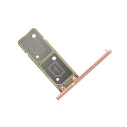Remplacer le rack double SIM du Xperia XA1 DUAL rose par une pièce neuve originale avec Bricophone_photo1