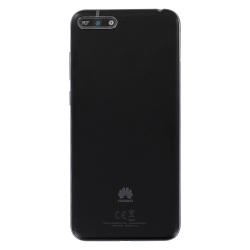 Changer la coque arrière du Y6 2018 noir de Huawei pour un modèle neuf d'origine avec Bricophone_photo1