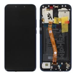 Remplacer l'écran du Mate 20 Lite bleu saphir de Huawei par cette pièce neuve d'origine + batterie avec Bricophone_photo1