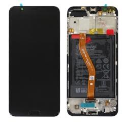 Changer l'écran et la batterie du Honor View 10 noir pour une pièce neuve d'origine Huawei avec Bricophone