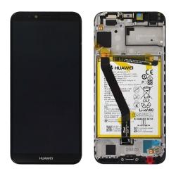 Changer l'écran et la batterie du Y6 2018 noir pour une pièce neuve d'origine Huawei avec Bricophone