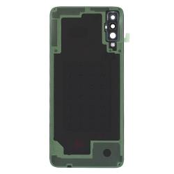 Remplacer la vitre arrière en plastique du Galaxy A70 noir par une pièce neuve d'origine avec Bricophone_photo2