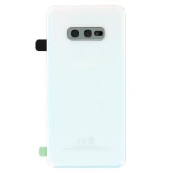 Remplacer la vitre arrière blanche du Galaxy S10e par cette pièce neuve d'origine avec Bricophone_photo1