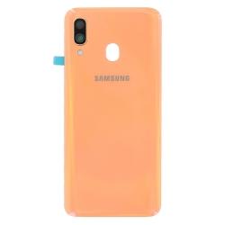 Vitre arrière Corail d'origine pour Samsung Galaxy A40 à remplacer avec Bricophone_photo1