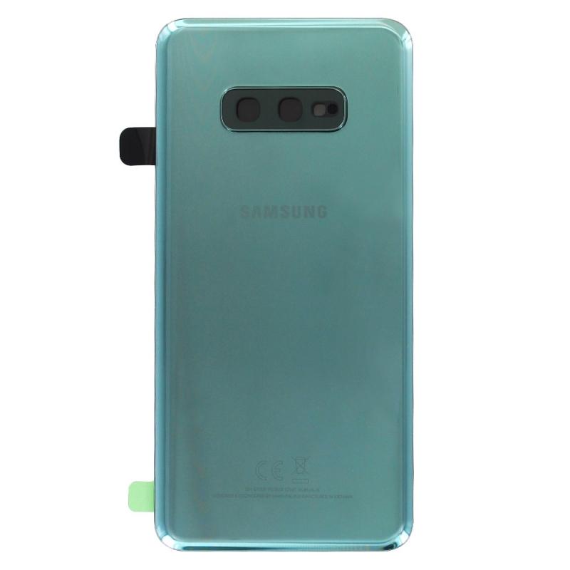 Vitre arrière d'origine pour Samsung Galaxy S10e Vert Prisme