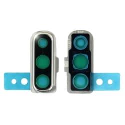 Lentille de protection en verre des caméras arrière du Samsung Galaxy A70 Blanc_photo1