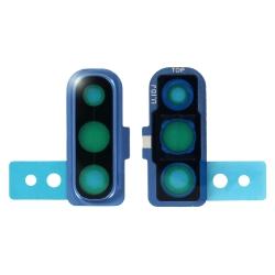 Lentille de protection en verre des caméras arrière du Samsung Galaxy A70 Bleu_photo1