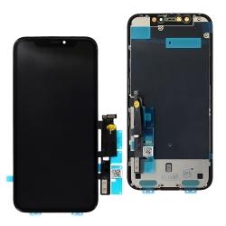 Remplacer l'écran de l'iPhone XR noir par une pièce au meilleur rapport qualité prix avec Bricophone_photo1