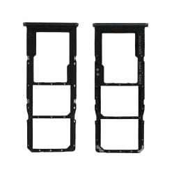 Rack tiroir pour cartes SIM et SD du Samsung Galaxy A70 Noir_photo1