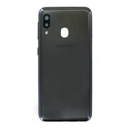 Vitre arrière Noire d'origine pour Samsung Galaxy A20e_photo1
