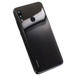 Vitre arrière Noire et lecteur d'empreintes pour Huawei P Smart 2019_photo3