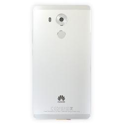 Coque arrière avec lecteur d'empreintes pour Huawei Mate 8 Blanc_photo1