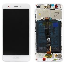Bloc Ecran Blanc pour Huawei Nova complet pré-monté sur châssis + batterie