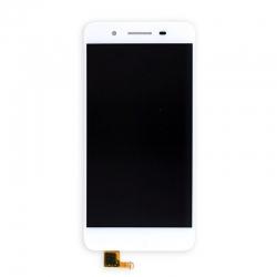 Ecran avec vitre et LCD sans châssis pour Huawei P8 Lite 2017 Blanc