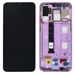 Bloc Ecran Violet Améthyste pré-monté sur châssis pour Xiaomi Mi 9_photo1