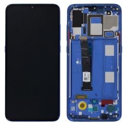 Bloc Ecran Bleu Océan pré-monté sur châssis pour Xiaomi Mi 9_photo1