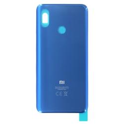 Vitre arrière Bleue pour Xiaomi Mi 8_photo1