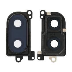Lentille de protection en verre et cache pour caméra arrière du Xiaomi Mi 8 Lite