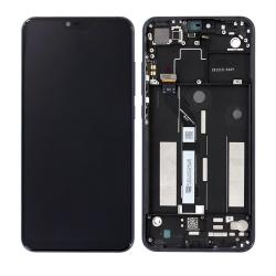 Bloc Ecran Noir COMPLET pré-monté sur châssis pour Xiaomi Mi 8 Lite_photo1