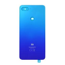 Vitre arrière Aurora Blue pour Xiaomi Mi 8 Lite_photo1