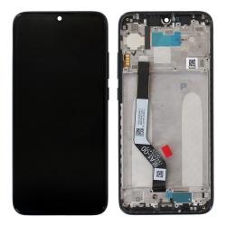 Bloc Ecran Noir pré-monté sur châssis pour Xiaomi Redmi Note 7_photo1