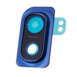 Lentille de protection en verre pour caméra arrière du Samsung Galaxy A10 Bleu_photo1