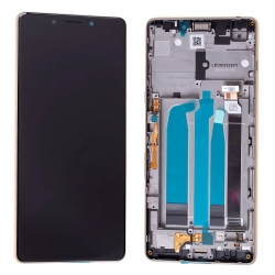 Bloc Ecran Or sur châssis pour Sony Xperia L3_photo1