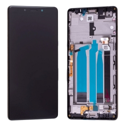 Bloc Ecran Noir sur châssis pour Sony Xperia L3_photo1