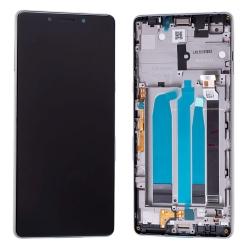Bloc Ecran Argent sur châssis pour Sony Xperia L3_photo1