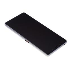 Bloc Ecran Argent sur châssis pour Sony Xperia L3_photo2