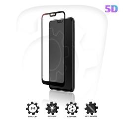 Verre Trempé 5D avec bordure noire pour Huawei P Smart (2019)