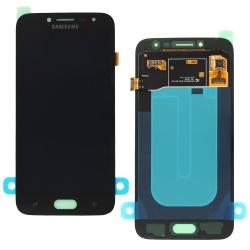 Ecran Noir avec vitre + Super Amoled pour Samsung Galaxy J2 (2018)