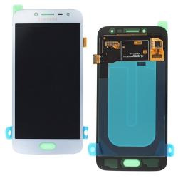 Ecran Argent avec vitre + Super Amoled pour Samsung Galaxy J2 (2018)
