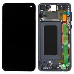 Bloc écran neuf noir d'origine pour le S10e de Samsung