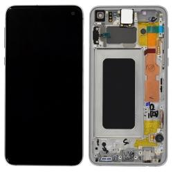 Bloc écran blanc prisme neuf d'origine pour le S10e de Samsung_1